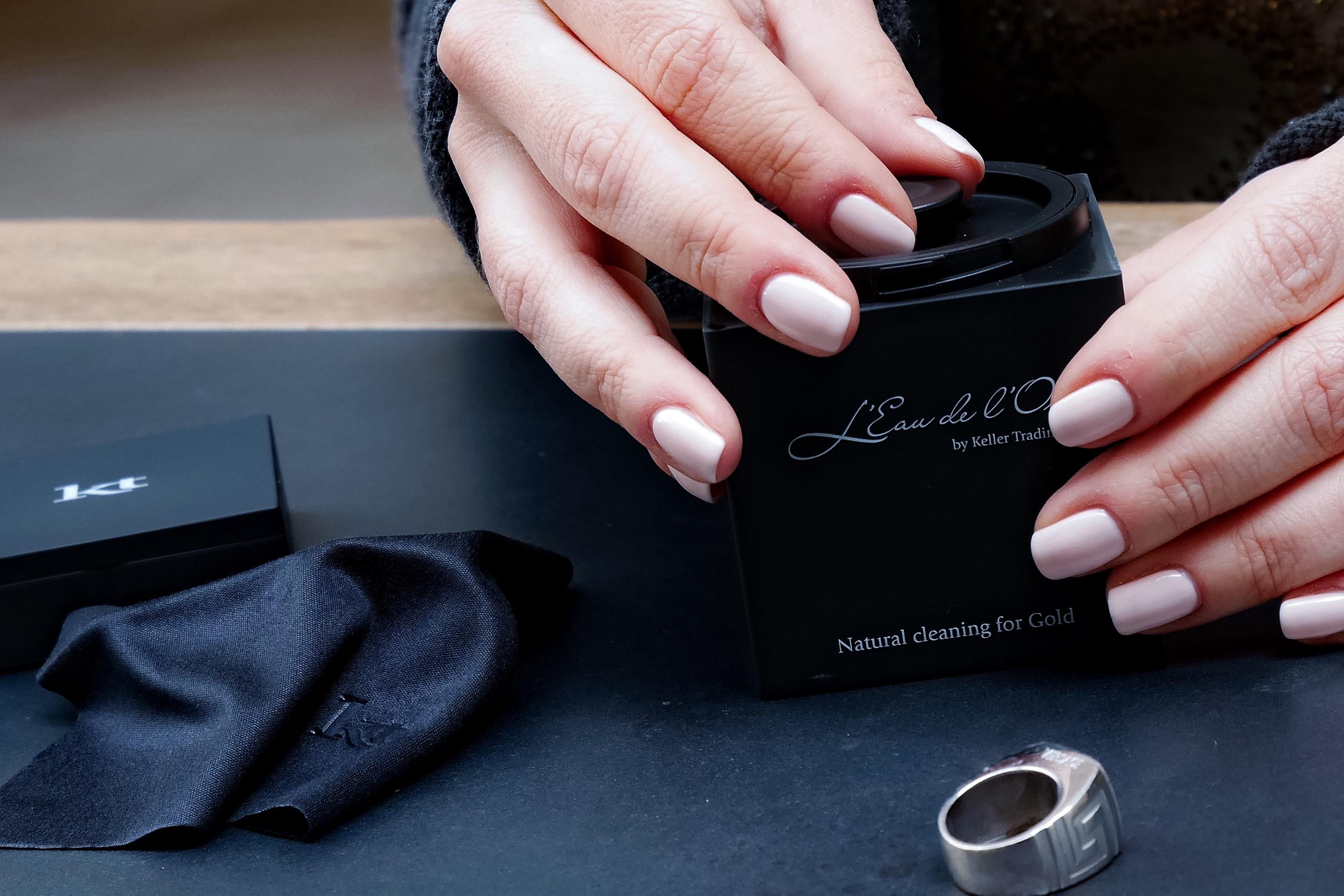 Solution nettoyante pour bijoux - Les Eaux du Joaillier