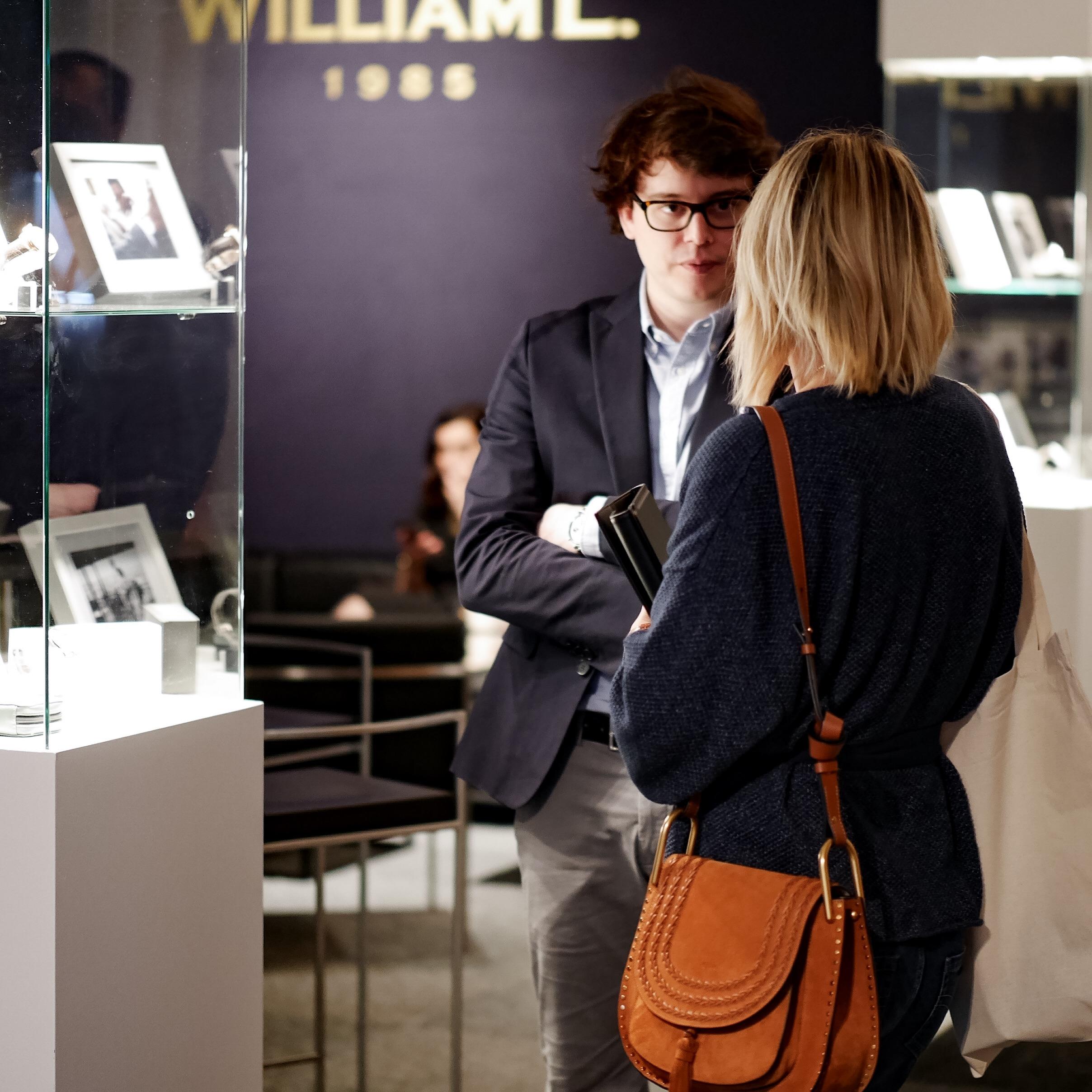 Guillaume Laidet fondateur de la marque William L.