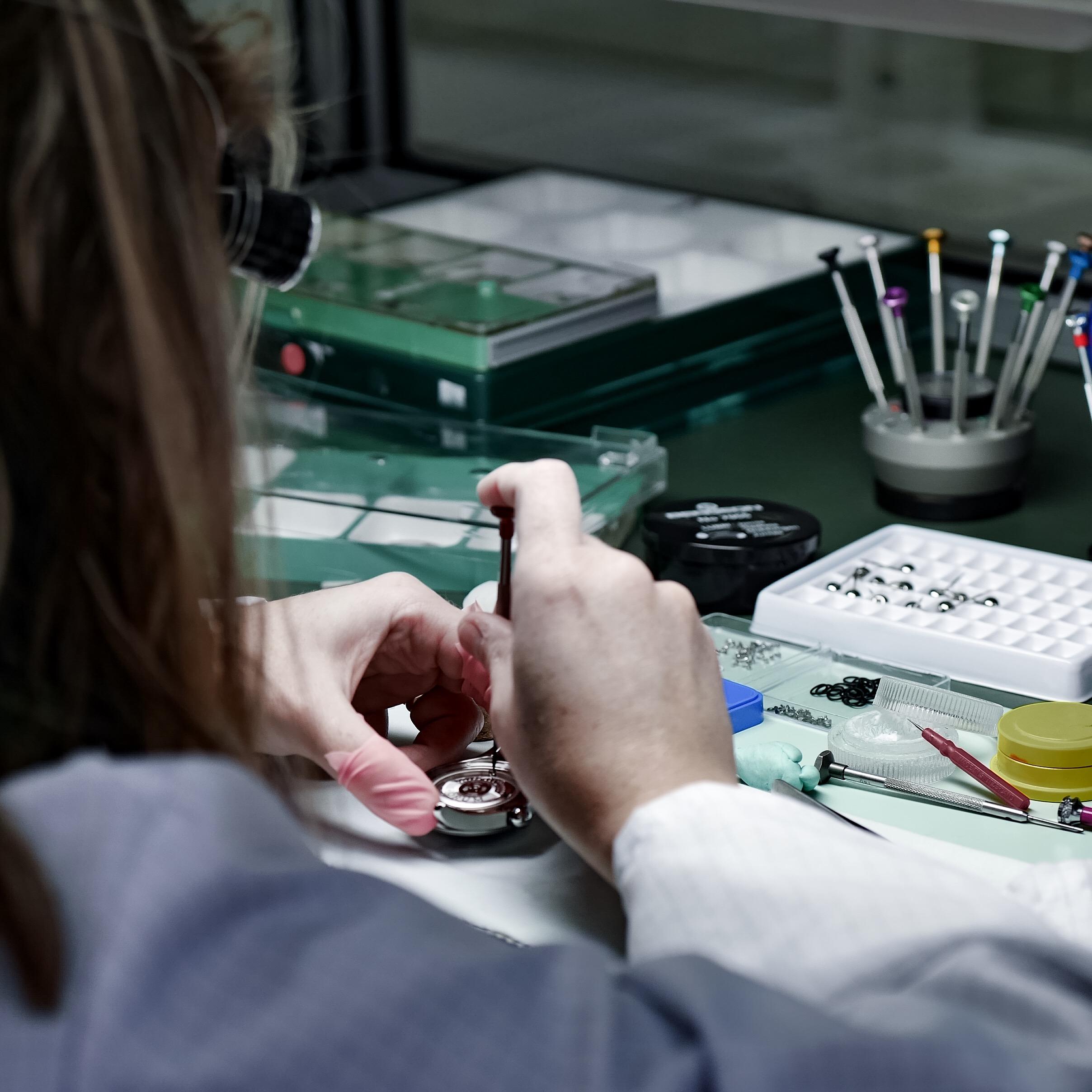 Visite ateliers manufacture montres corum