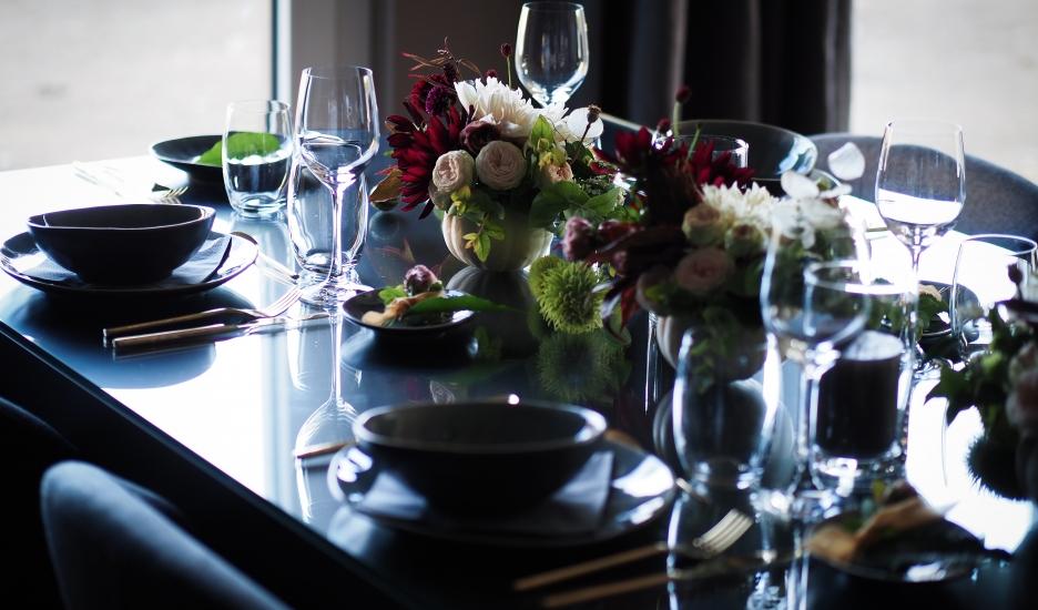 Une table de fêtes réussie